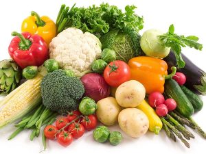 Lots OF Fruits And Lots Of Veggies